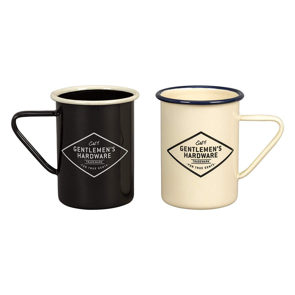 GENTLEMEN'S HARDWARE Enamel Coffee Mugs