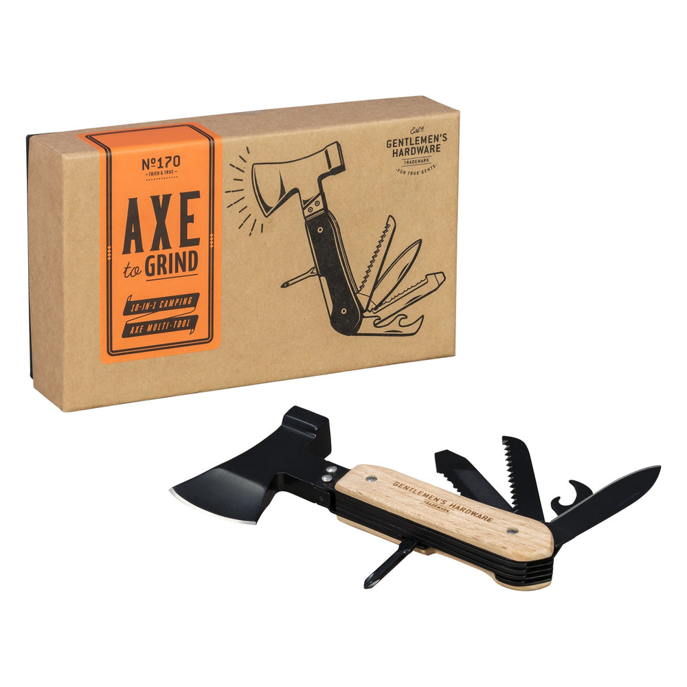 GENTLEMEN'S HARDWARE Axe Multitool