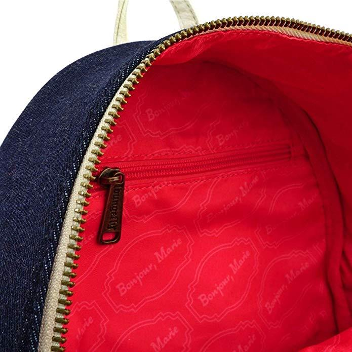 LOUNGEFLY x The Aristocats Marie Denim Mini Backpack