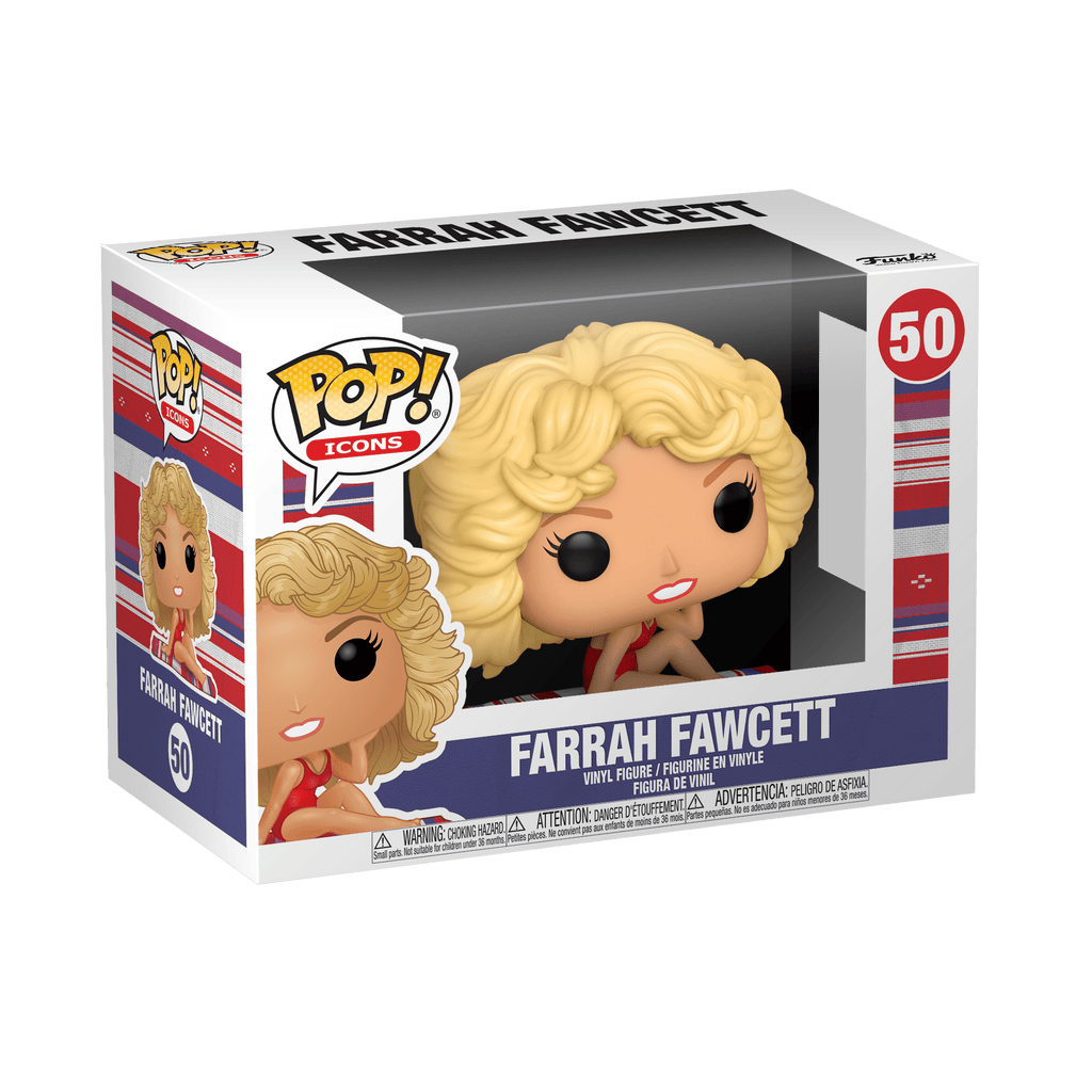 FUNKO Pop! Icon: Farrah Fawcett