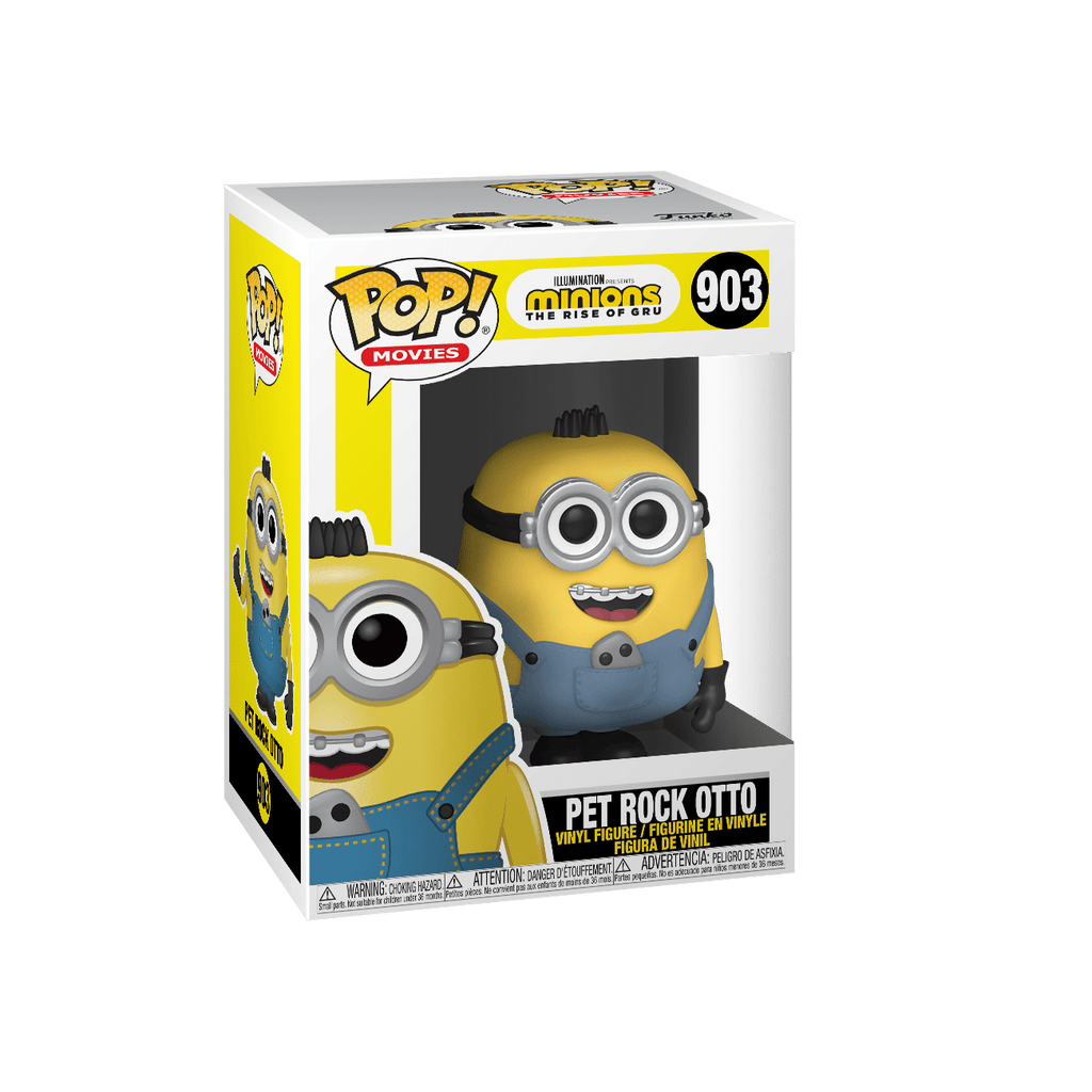 FUNKO Pop! Movies: Minions 2 - Pet Rock Otto