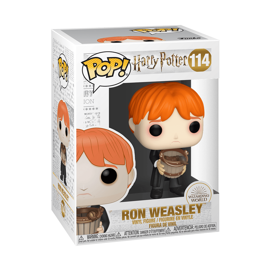 FUNKO Pop! Harry Potter: Ron Puking Slugs w/ Bucket