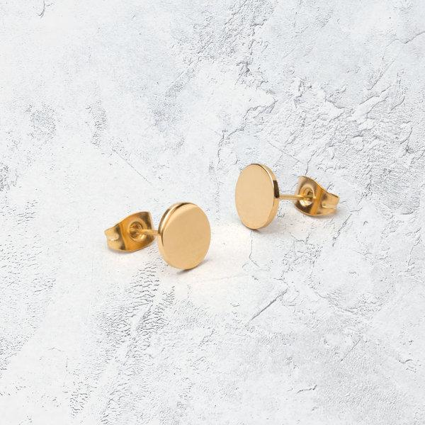 KUKU LDN Circle Earrings