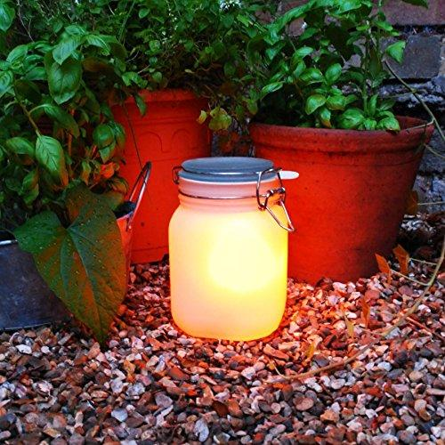 SUCK UK Solar Powered Light Jar