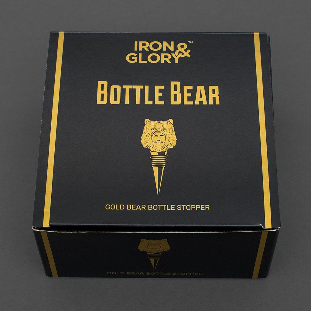 IRON & GLORY Bottle Bear