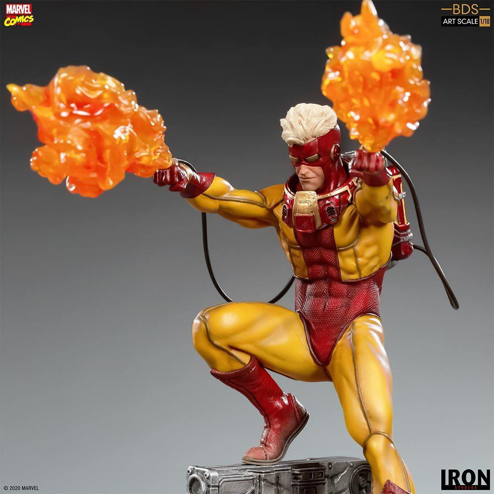 PREORDER - IRON STUDIOS - Pyro BDS Art Scale 1/10 - Marvel Comics