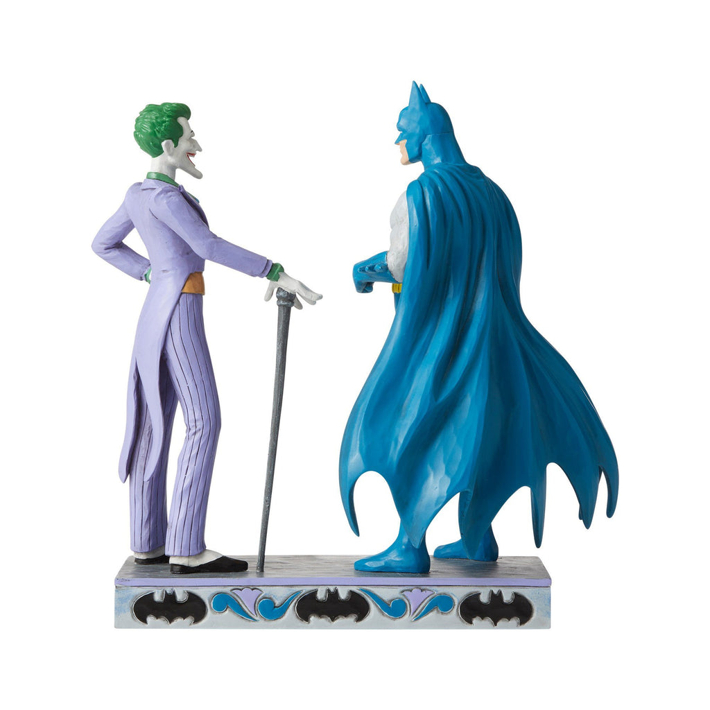 DC COMICS By Jim Shore - Batman & Joker
