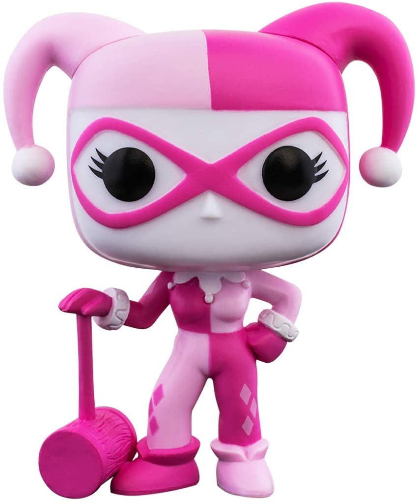 FUNKO POP! Breast Cancer Awareness Harley Quinn