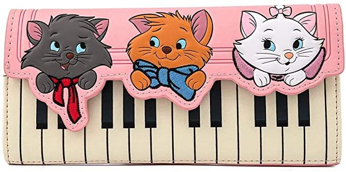 LOUNGEFLY x DISNEY The Aristocats Piano Wallet