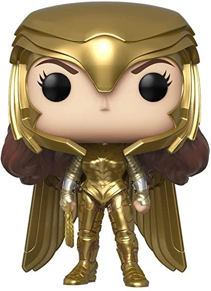 FUNKO Pop! Heroes: WonderWoman 1984 - Wonder Woman Gold Power (Metallic)