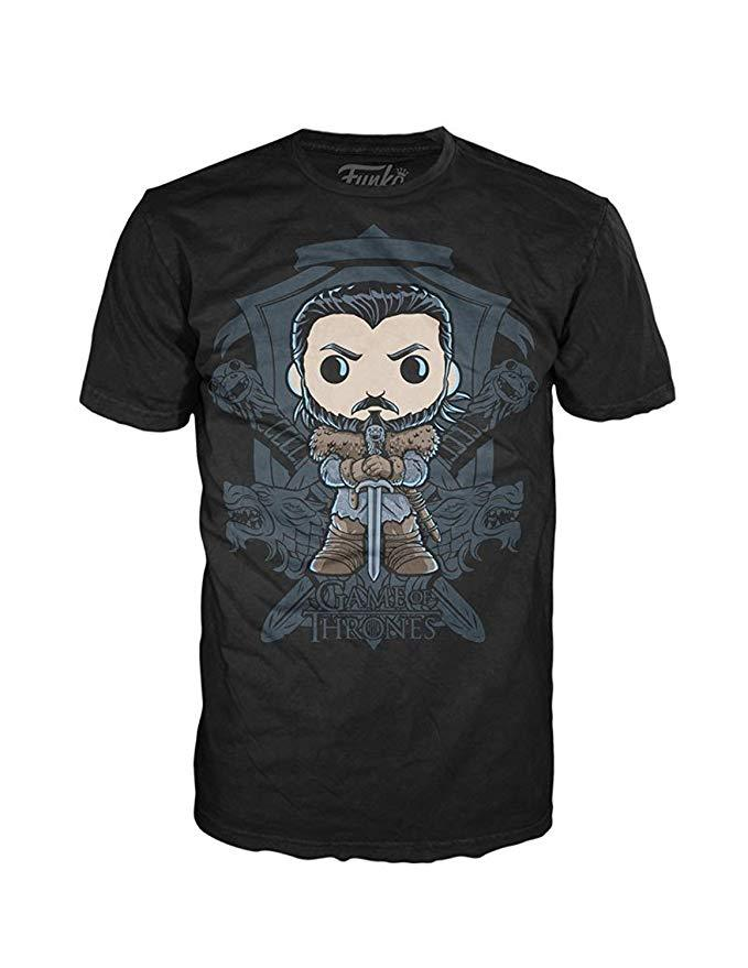 FUNKO POP! Tees: Game of Thrones - Jon Snow Crest
