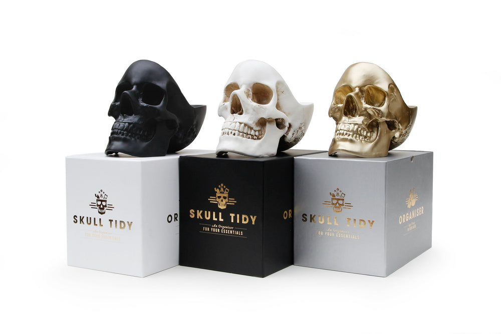 SUCK UK Skull Tidy