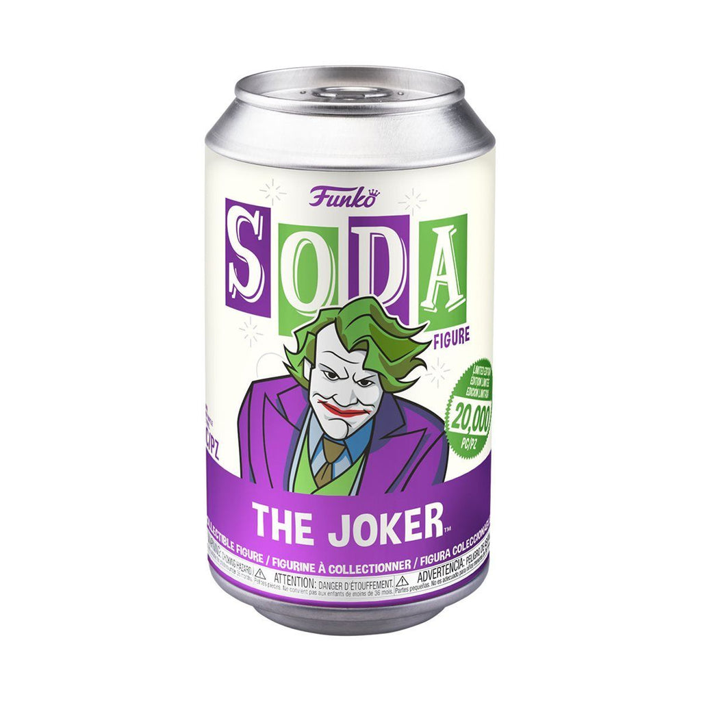 FUNKO POP! SODA CAN VINYL DC Heath Ledger Joker