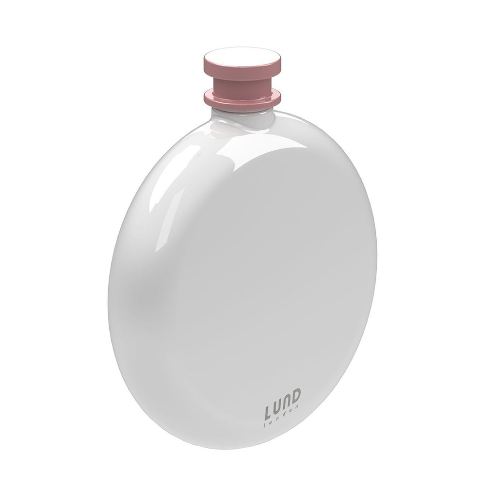 LUND LONDON Skittle Round Hip Flask