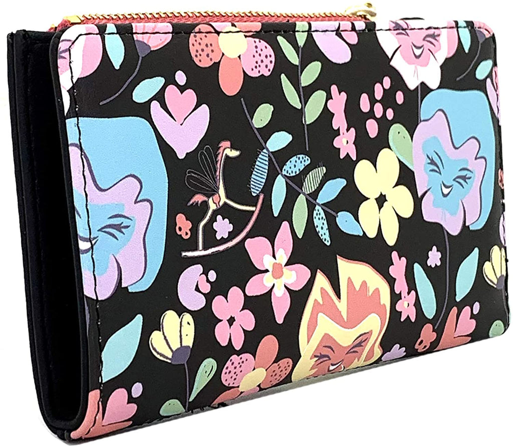 LOUNGEFLY Disney Alice in Wonderland Flowers Wallet