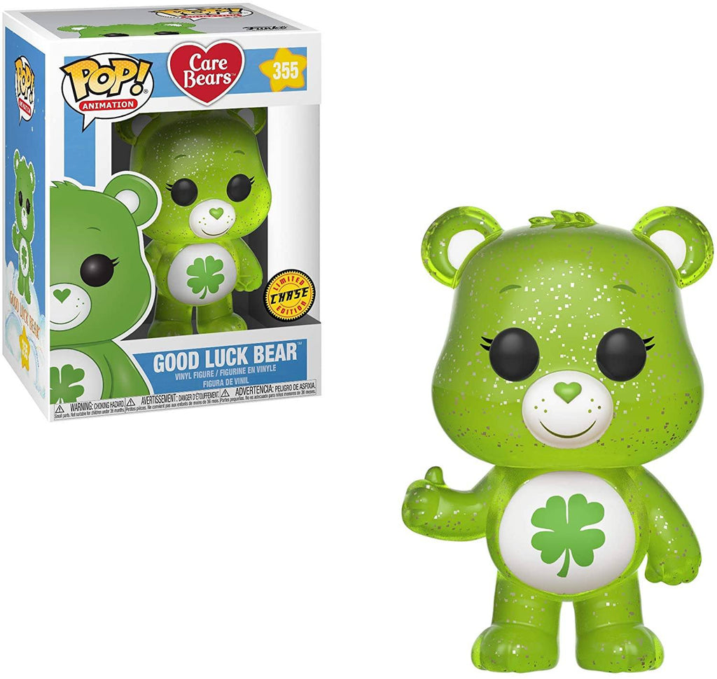 FUNKO POP! Animation: Care Bears Good Luck Bear CHASE