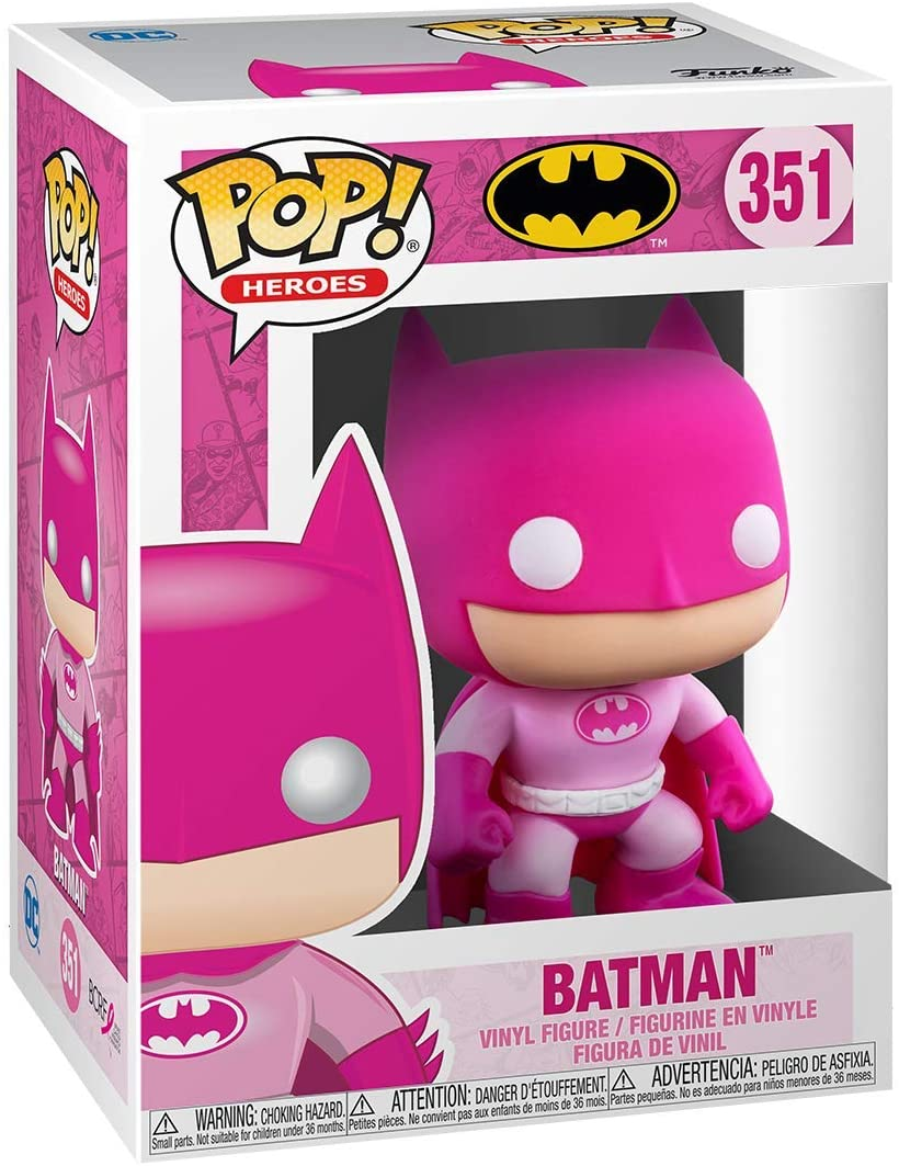 FUNKO POP! Breast Cancer Awareness Batman