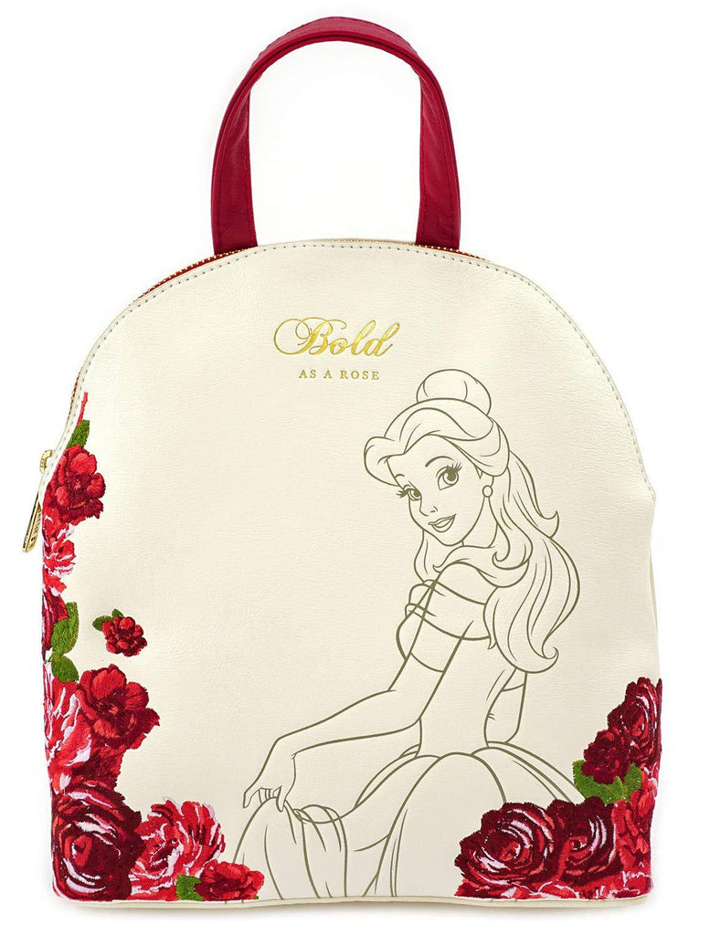 LOUNGEFLY x Belle Flowers Mini Backpack