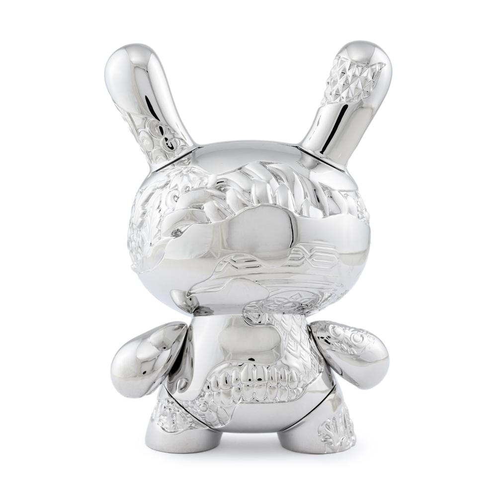 "KIDROBOT -  5"" New Money Metal Dunny By Tristan Eaton"
