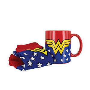 Wonder Woman Mug & Sock Set