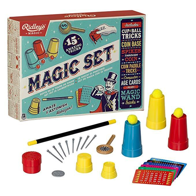 RIDLEYS GAMES Magic Tricks - Set of 15