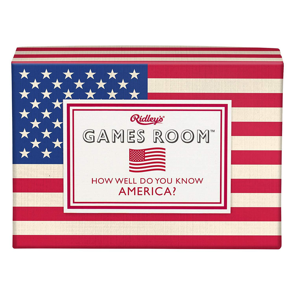 RIDLEYS GAMES Quiz Game - How Well Do You Know America
