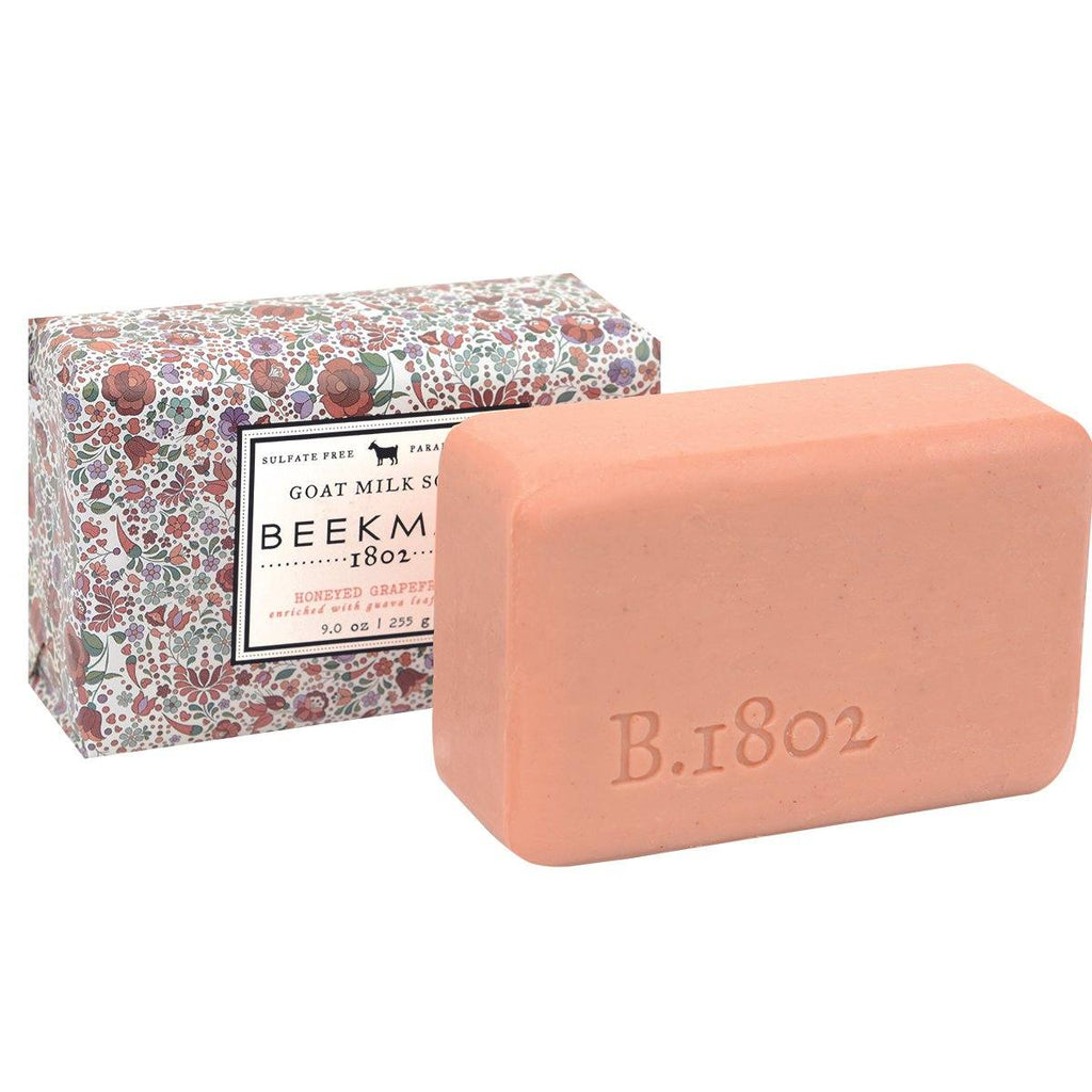 BEEKMAN Honeyed Grapefruit Goat Milk Bar Soap