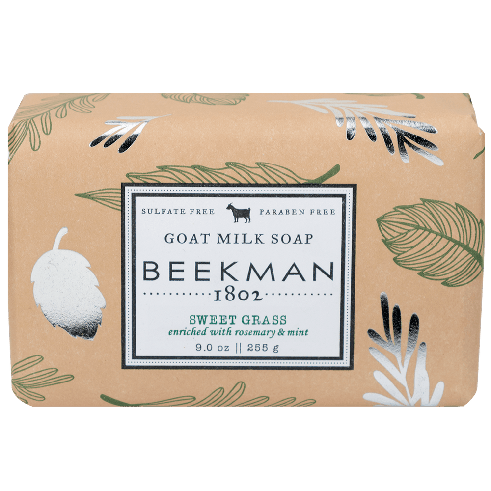 BEEKMAN Sweet Grass Bar Soap