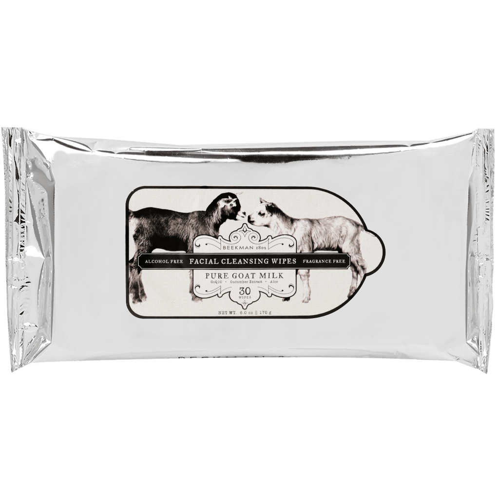 BEEKMAN Pure Goat Milk Facial Wipes