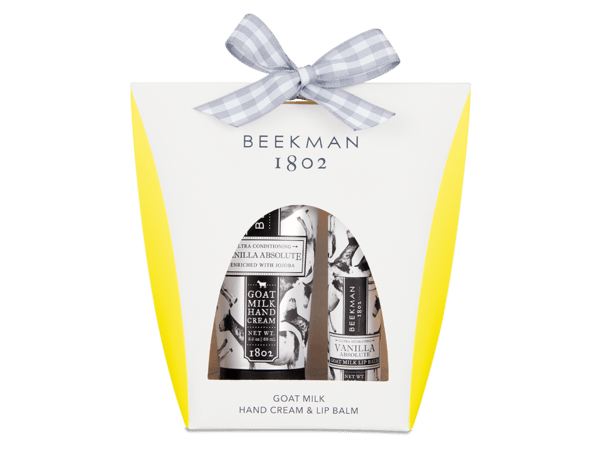 BEEKMAN Vanilla Absolute Hand & Lip Hydration Set