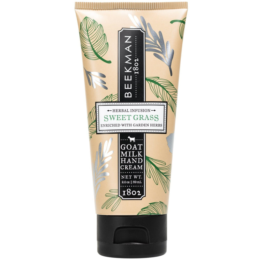 BEEKMAN Sweet Grass Hand Cream 2oz