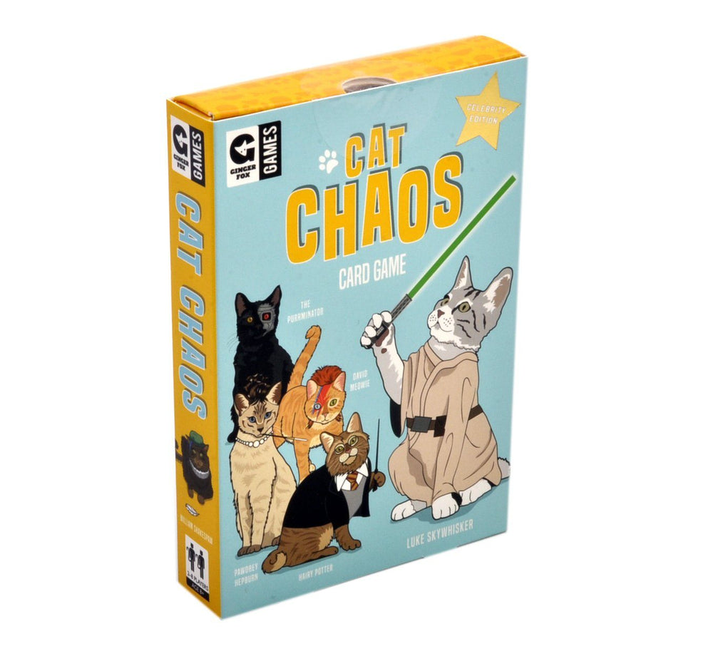 GINGERFOX Cat Chaos Card Game