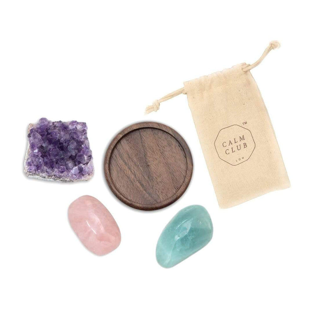 LUCKIES OF LONDON Good Vibes Relaxation healing stones set