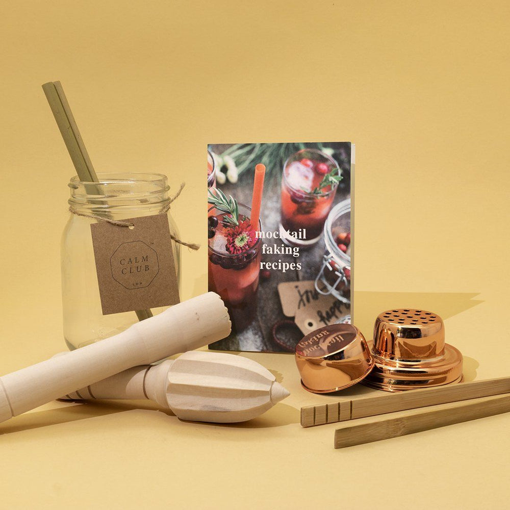LUCKIES Calm Club Mocktail Faking Kit