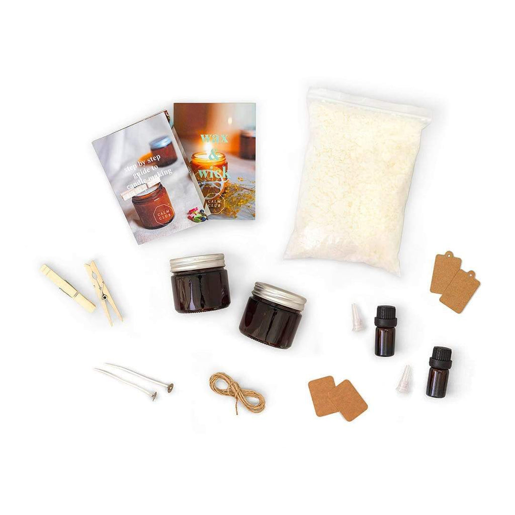 LUCKIES OF LONDON Wax & Wick Scented Candle Making Kit