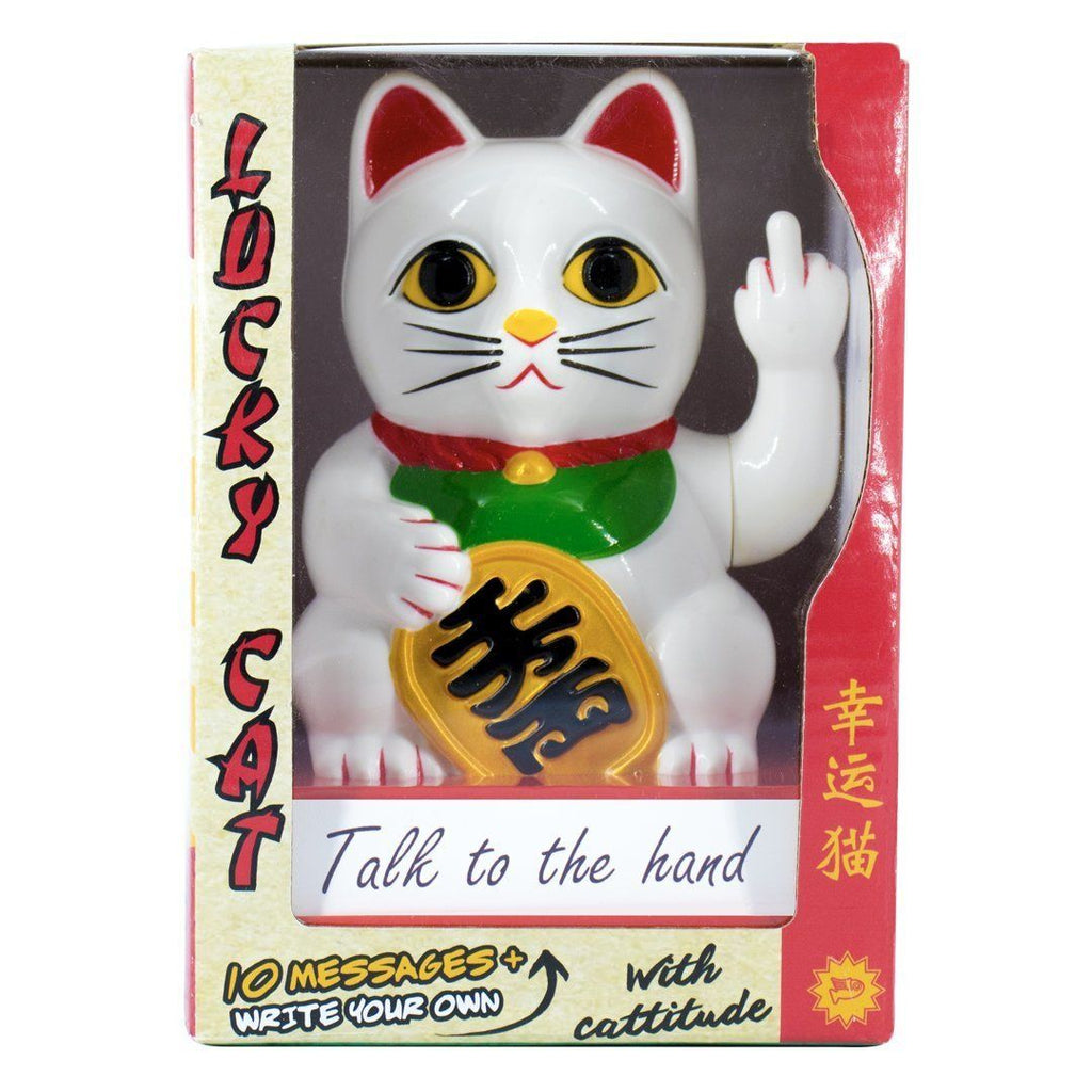 LOCOMOCEAN Cattitude - Lucky Cat With Cattitude
