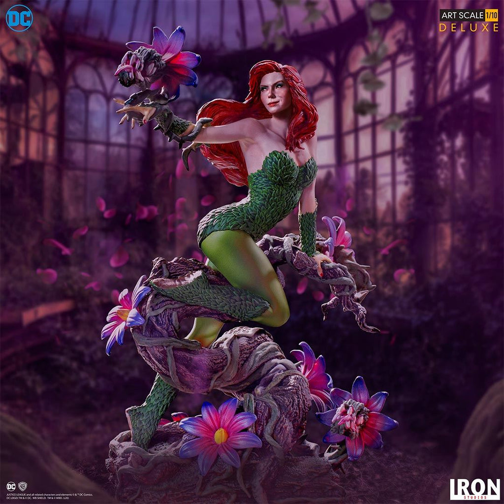 PREORDER - IRON STUDIOS Poison Ivy Art Scale 1/10 - DC Comics by Ivan Reis Series #5