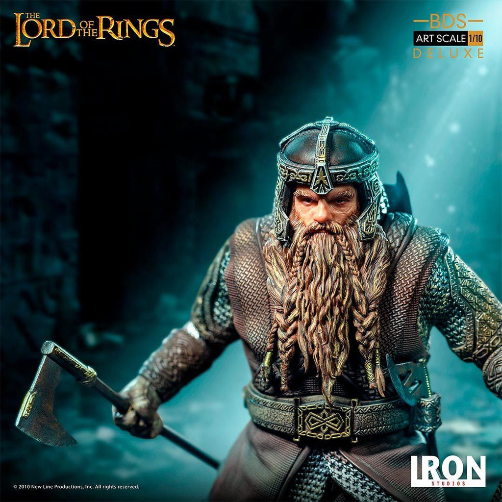 IRON STUDIOS PRESALE Gimli Deluxe BDS Art Scale 1/10 - Lord Of The Rings