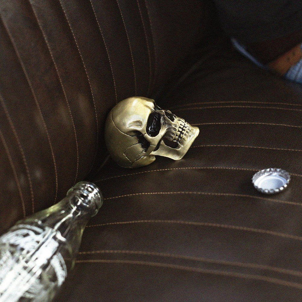 IRON & GLORY Crack One Open Skull Bottle Opener