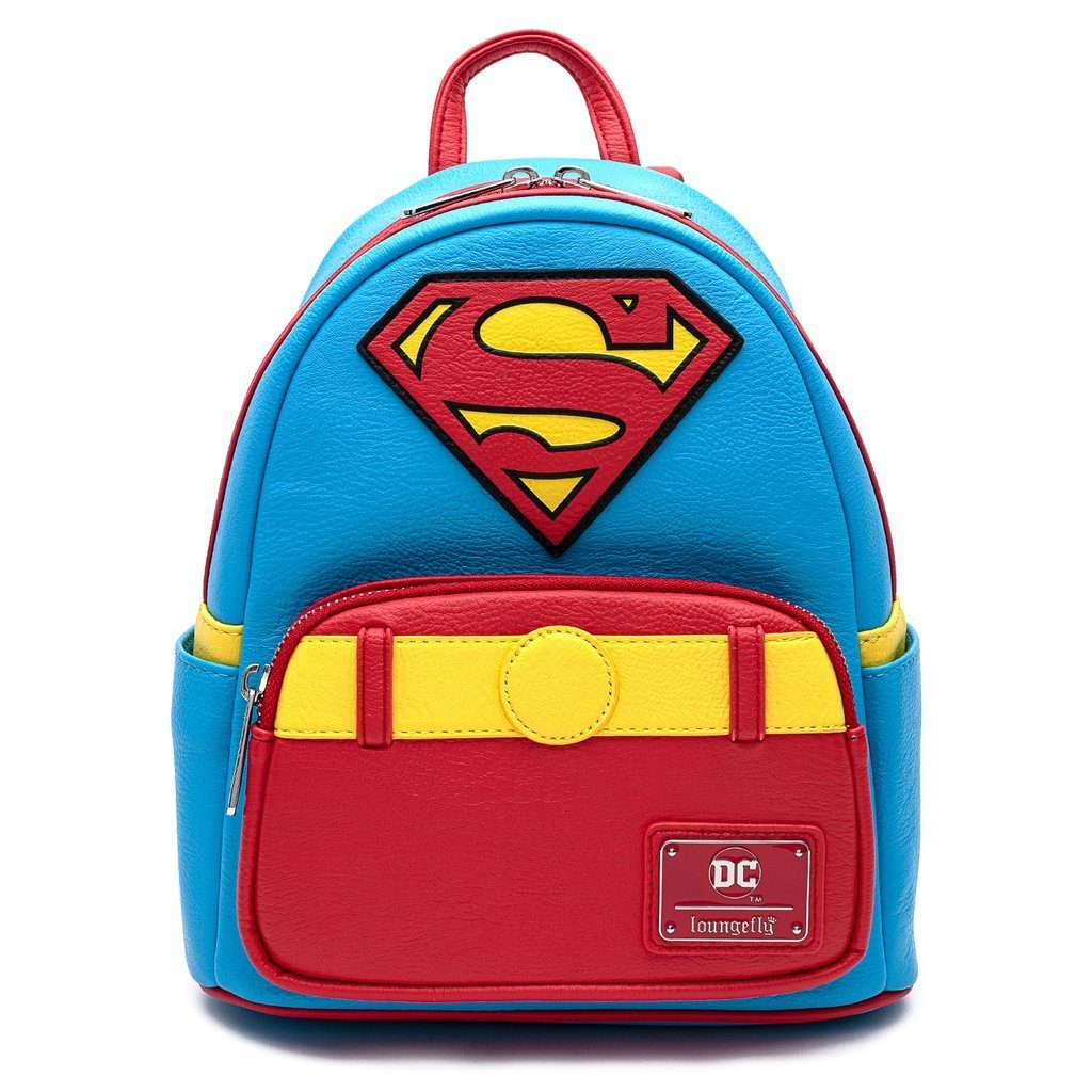 LOUNGEFLY x DC Vintage SuperMan Mini Backpack