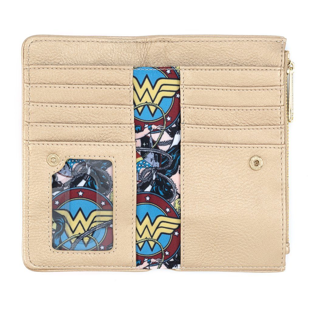 LOUNGEFLY x DC Vintage Wonder Woman Wallet
