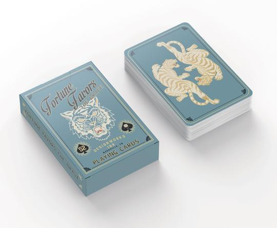 DESIGNWORKS INK - Fortune Favors The Brave Playing Cards