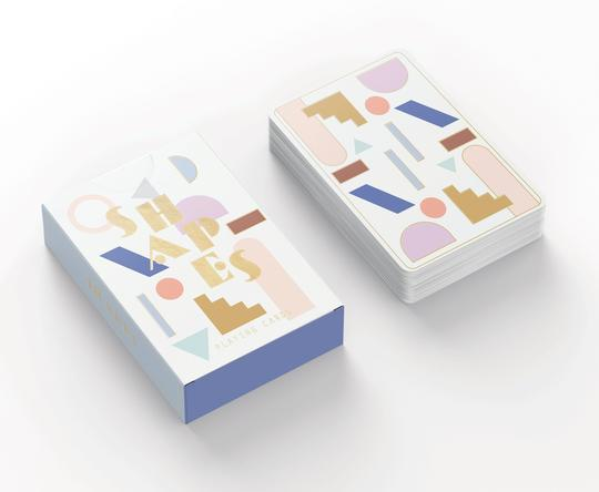DESIGNWORKS INK - Shapes Playing Cards