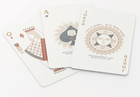 DESIGNWORKS INK - Modern Deco Playing Cards