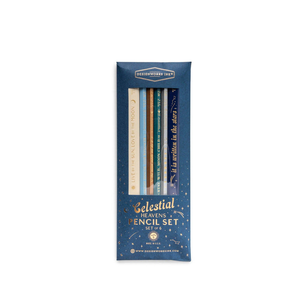 DESIGNWORKS INK - Celestial Heavens Pencil Set