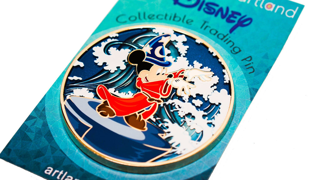 ARTLAND UK Disney Fantasia Pin - D