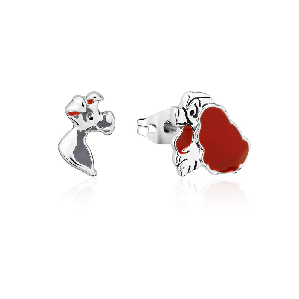 COUTURE KINGDOM - Disney Lady & The Tramp Stud Earrings