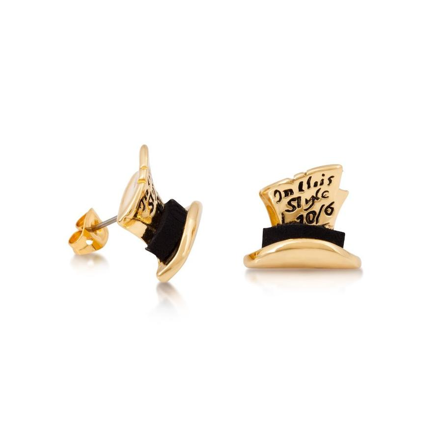 COUTURE KINGDOM x Disney Alice in Wonderland Mad Hatter Stud Earrings