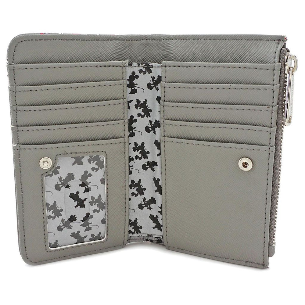LOUNGEFLY Minnie Grey Wallet