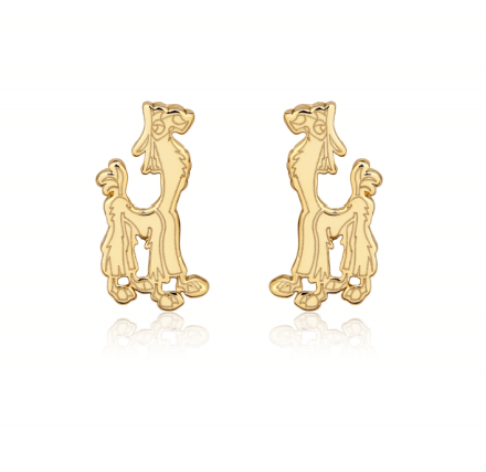 COUTURE KINGDOM - Disney The Emperor's New Groove Kuzco Llama Stud Earrings